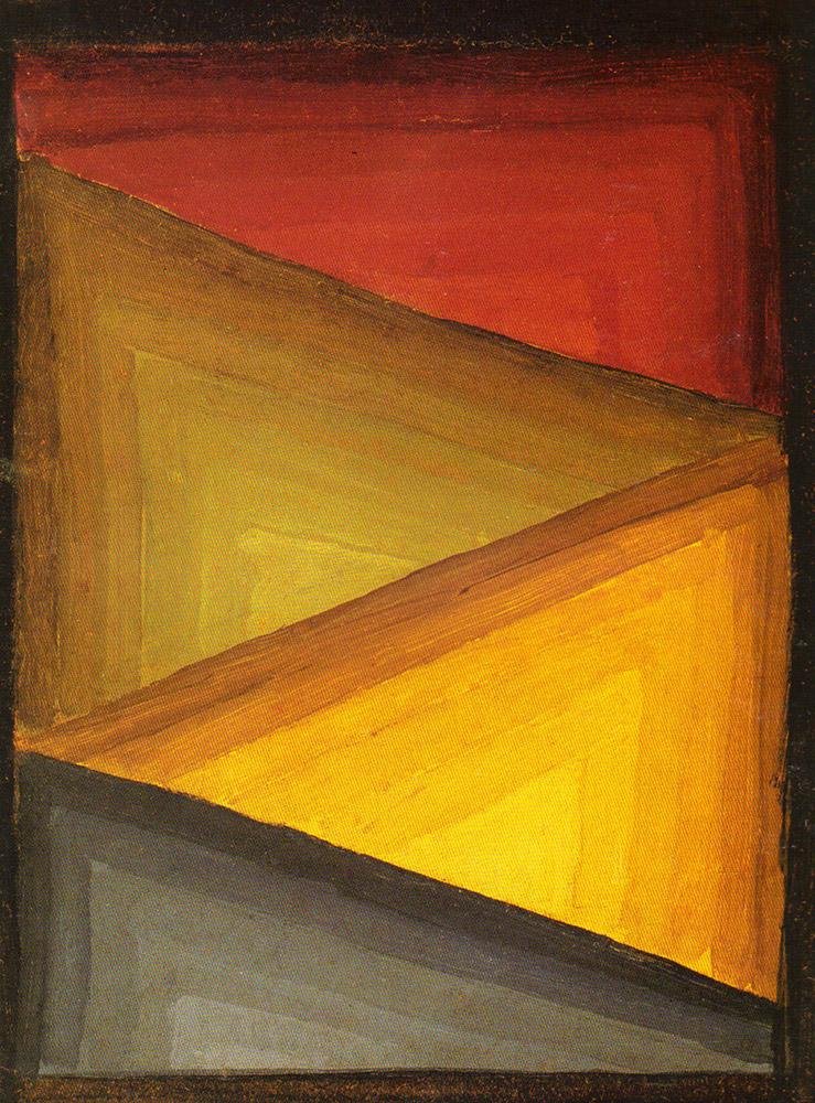 Composicion, Óleo sobre cartón, 30x23cm, c1935