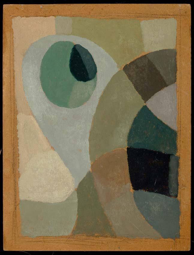 Composición, óleo sobre cartón, 30x23cm, 1935-1940