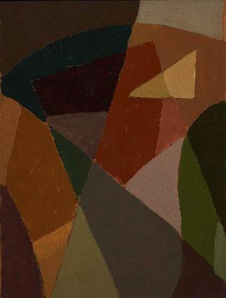 Composición, óleo sobre cartón, 30x23cm, c.1935-1940