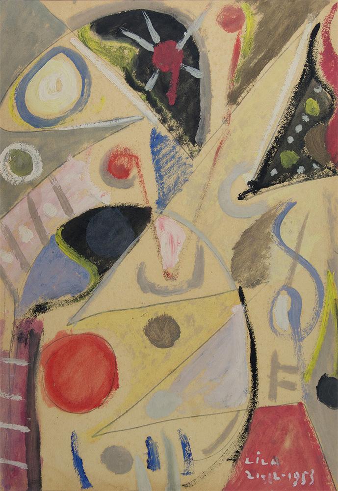 Óleo sobre cartón, 50x35cm, 21-12-1953