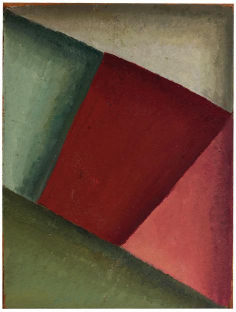 Composición, Óleo sobre cartón, 30 x 23, c 1930-35