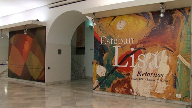 """Recorrido por la muestra """"Esteban Lisa. Retornos. Toledo,1895/ Bs. As., 1983"""" en la Biblioteca Nacional de España"""